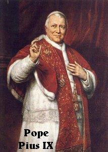 Pope Pius IX (1792-1878)